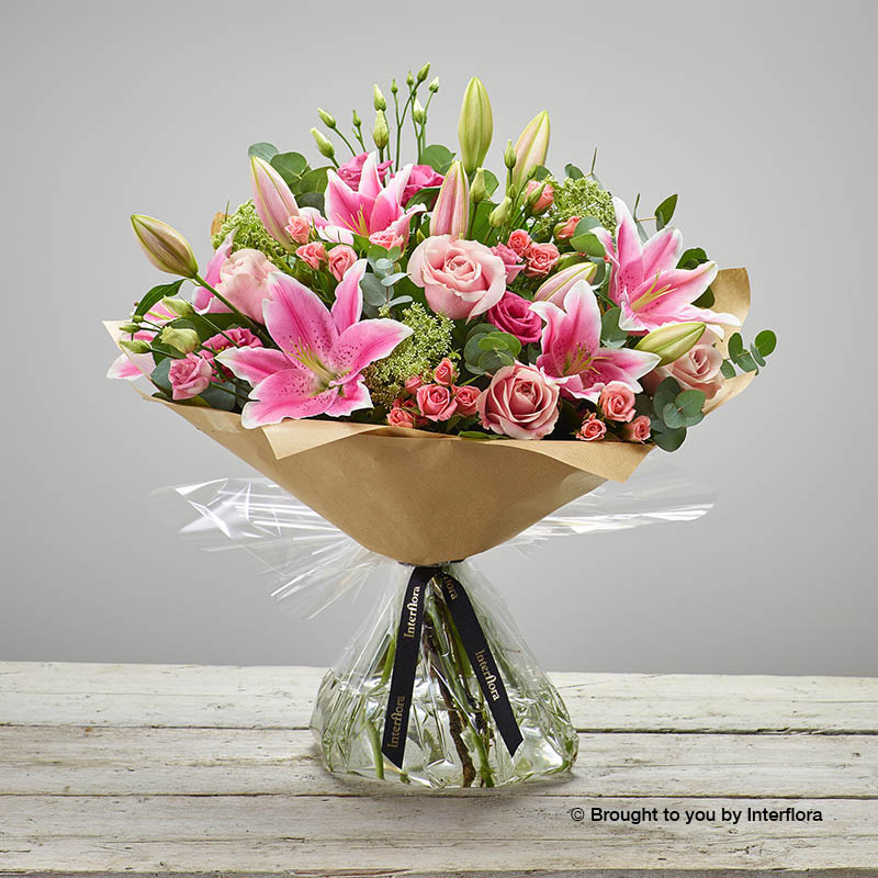 Pink Radiance Hand-tied (extra large size)