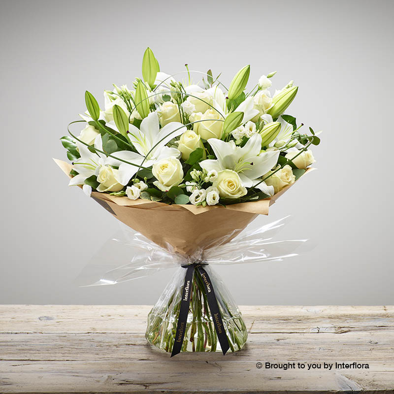 Wonderfully White Hand-tied (extra large size)