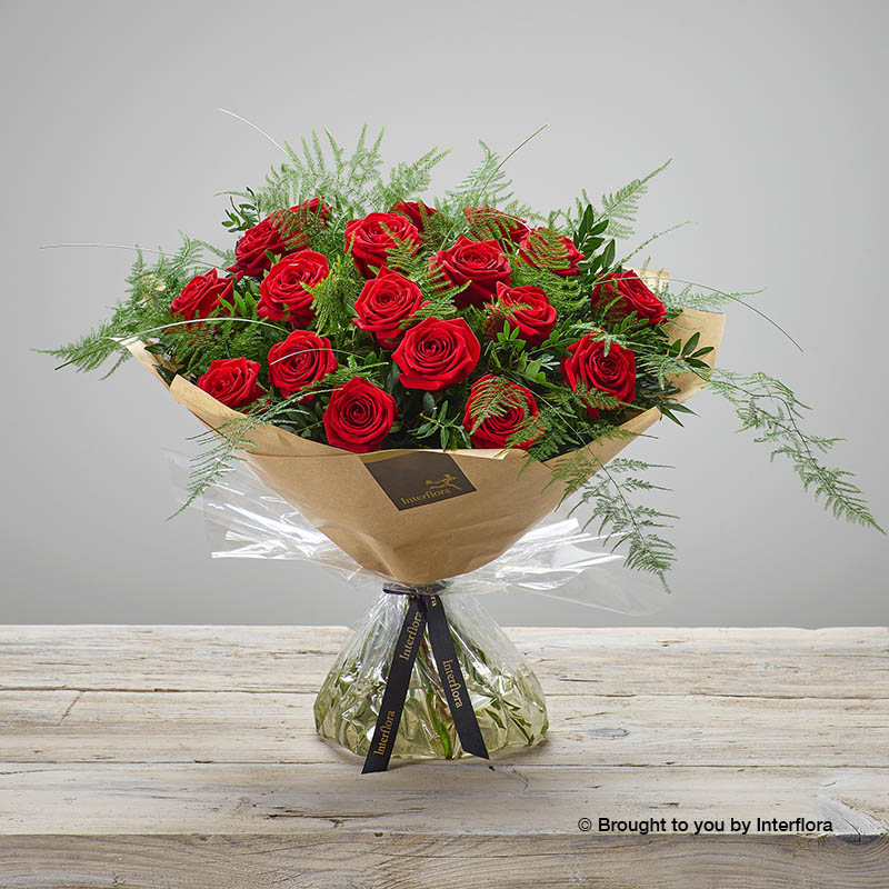 Heavenly Red Rose Hand-tied (large size)