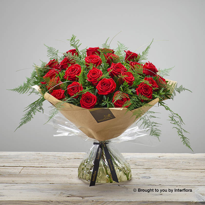 Heavenly Red Rose Hand-tied (extra large size)